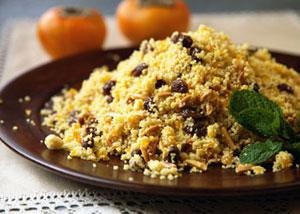 Cinnamon Raisin Couscous