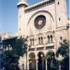 Outside the Synagogue of Oran