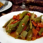 طبخة البامية - Bamya