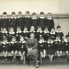 All boys classroom of the Jewish Cattaoui School
