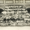 Elementary school students and teachers