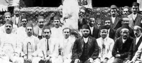 Iranian Jewish Men With Torah