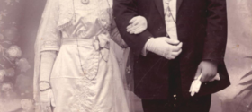 Yussef and Hanina Bashi's Wedding, Baghdad 1916 – Sawdayee.com