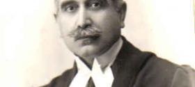 Daniel Khazzoom's father in court attire 1956