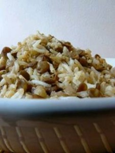 Majadara- Lebanese Lentils and Rice